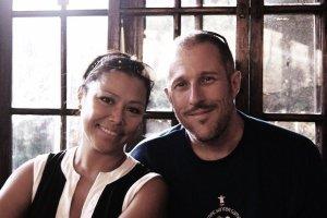Megin Alvarez and Malcolm Trevena