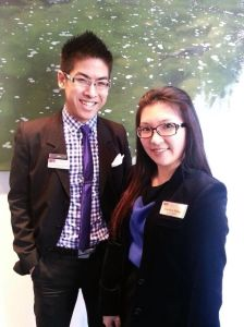 Mike Wong and Jocelyn Tang